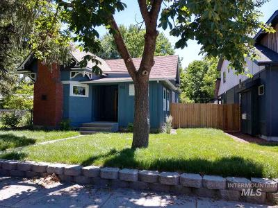 Boise Single Family Home For Sale: 912 28th