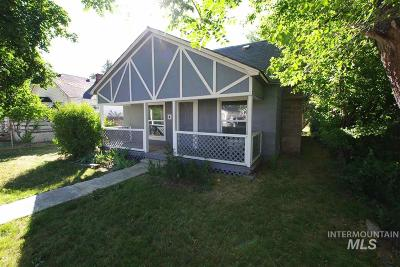 Nampa Single Family Home New: 1108 13th Ave S