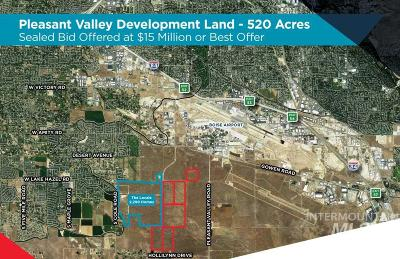 Boise Residential Lots & Land For Sale: 6259 S Pleasant Valley Rd