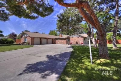 Boise Single Family Home For Sale: 1285 S Whipoorwill Way