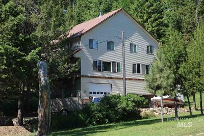 Cascade Single Family Home For Sale: 10135 Round Valley Rd