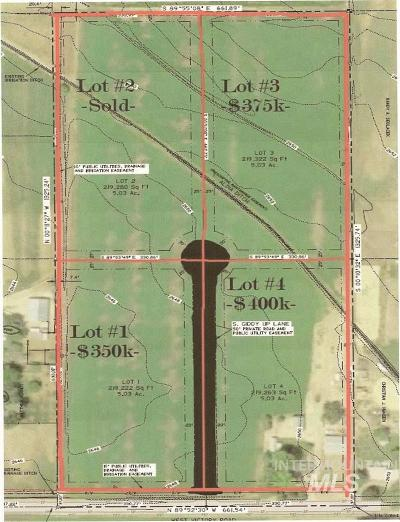 Meridian Residential Lots & Land For Sale: 1 Giddy Up Lane