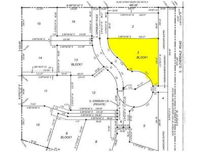 Boise Residential Lots & Land For Sale: 2696 S Simsbury Pl