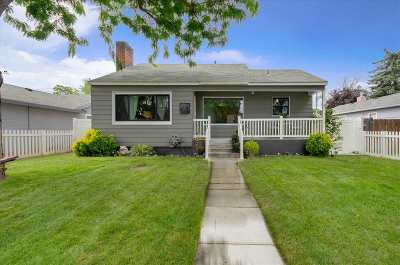 Boise Single Family Home For Sale: 2919 W Pleasanton Ave