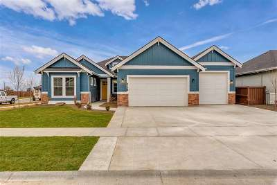 Meridian Single Family Home For Sale: 3690 W Ladle Rapids St
