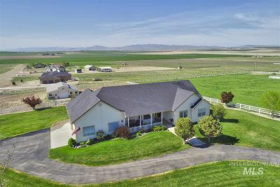 Nampa Single Family Home New: 13663 Santa Rita