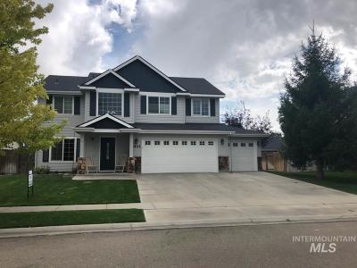 Nampa Single Family Home New: 4401 E Jennifer