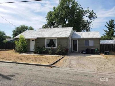 Emmett Single Family Home For Sale: 1405 E Main St