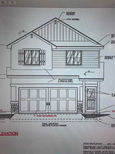 Nampa Single Family Home New: 2171 W Bella Lane