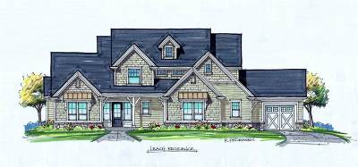 Meridian Single Family Home New: Pemberley Lane
