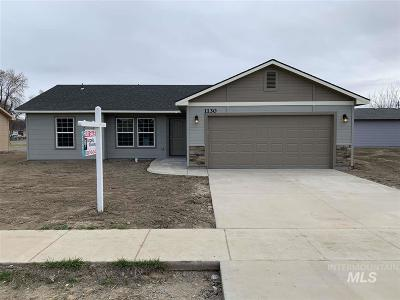 Weiser Single Family Home For Sale: 1040 W Butterfield