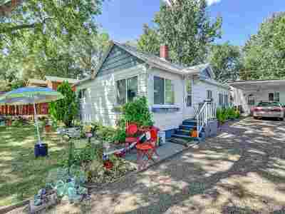 Boise Single Family Home Back on Market: 2321 S Pacific St