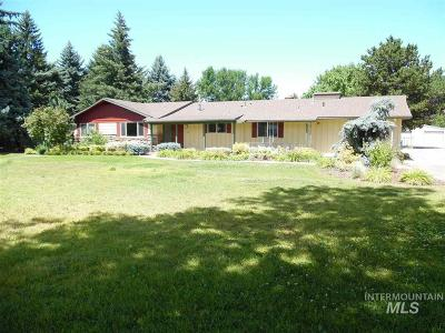 Boise Single Family Home For Sale: 8618 W Ustick Road