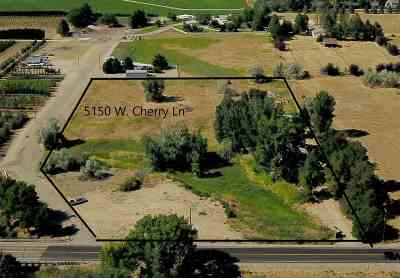 Meridian Residential Lots & Land For Auction: 5150 W Cherry Ln.