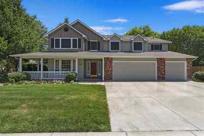 Boise Single Family Home For Sale: 1972 S Trapper Cove