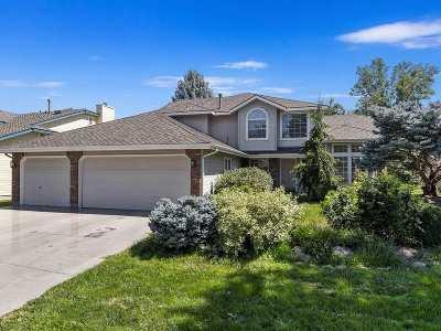 Boise Single Family Home Price Change: 3328 S Glen Falls Place