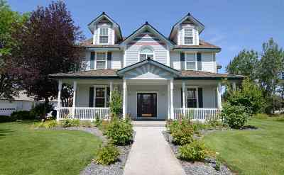Nampa Single Family Home For Sale: 8750 Quail Ridge