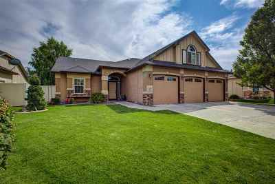 Nampa Single Family Home For Sale: 10437 Boulder Peak