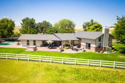 Boise, Nampa, Meridian, Middleton Single Family Home For Sale: 9835 Rim Rd