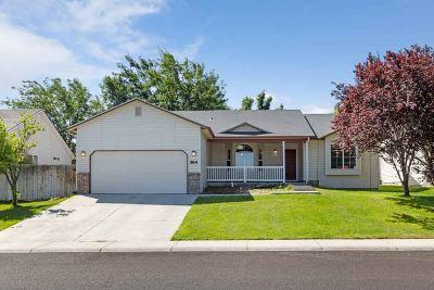 Nampa Single Family Home New: 564 W Palmer