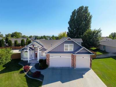 Nampa, Caldwell, Middleton Single Family Home New: 2428 S Skyview Way