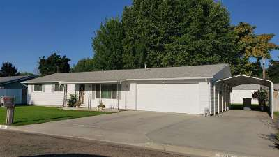 Caldwell Single Family Home New: 1205 Teton Avenue