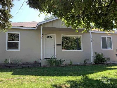 Nampa, Caldwell, Middleton Single Family Home For Sale: 174 N Stinson