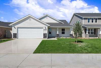 Nampa, Caldwell, Middleton Single Family Home New: Sunset Ridge Ave.