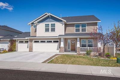 Kuna Single Family Home For Sale: 1098 E Mystery Drive