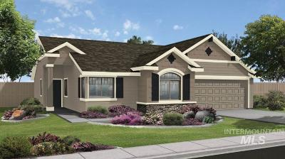 Nampa, Caldwell, Middleton Single Family Home New: 17411 N Flagstaff Way