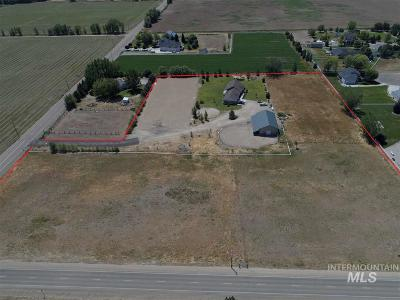 Boise, Nampa, Meridian, Middleton Single Family Home Contingent Sale: 24875 Lansing Ln