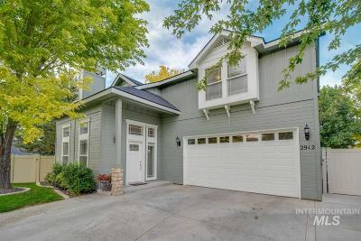 Eagle Single Family Home New: 2912 E Bonfire Lane