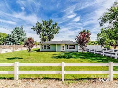 Boise Single Family Home New: 10234 Arnold Road