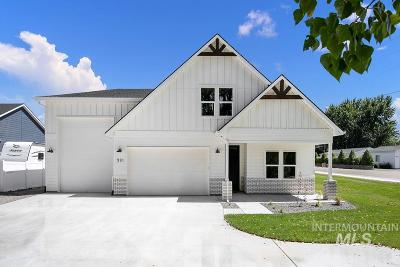 Middleton Single Family Home For Sale: Redwing St