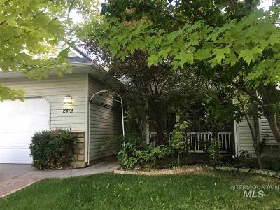 Caldwell Single Family Home For Sale: 2412 Carnegie Street