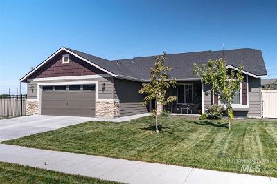 Meridian Single Family Home For Sale: 1186 SW Flower Garden