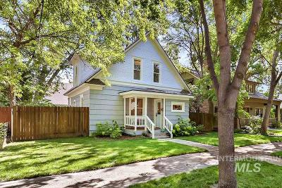 Boise Single Family Home For Sale: 2014 N 17th Street