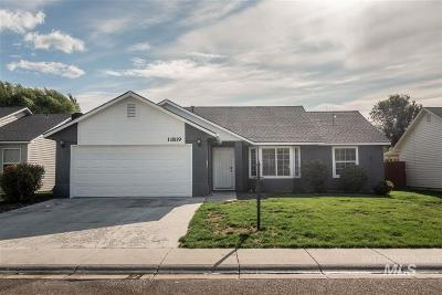 Nampa Single Family Home New: 11819 W Huckleberry Dr