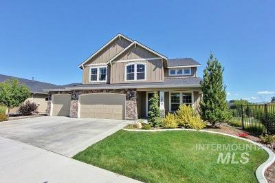 Meridian Single Family Home New: 3970 Shimmering Way