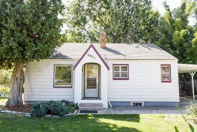 Single Family Home Price Change: 2821 W Edson St