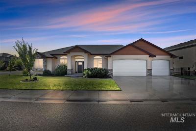 Kuna Single Family Home For Sale: 943 W Rose Quartz