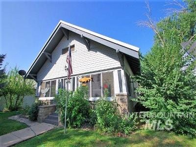 Weiser Single Family Home For Sale: 747 W 2nd