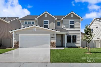 Boise Single Family Home New: 7521 S Cap View Way