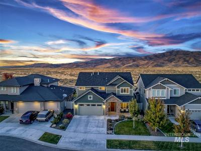 Boise Single Family Home New: 6470 E Bend Ridge St