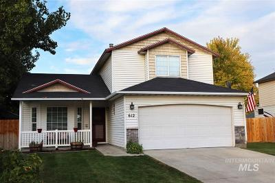 Nampa Single Family Home New: 612 N Coppertree Drive