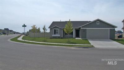 Nampa Single Family Home New: 8273 E Rathdrum