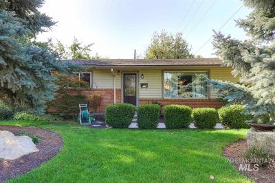 Boise Single Family Home New: 2626 Augusta