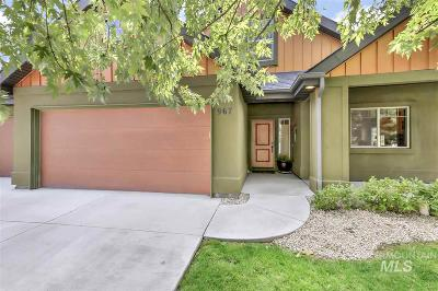 Boise Single Family Home New: 967 Rubicon