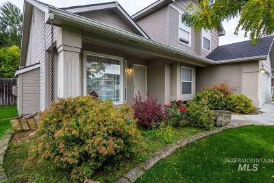 Meridian Single Family Home New: 1338 W Brown Trout