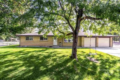 Boise Single Family Home New: 480 S Cotterell Dr.